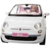 Barbie baba és autó Fiat 500 Cabrio