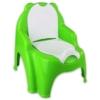 Bilis trónszék műanyag zöld