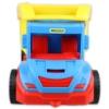 Dömper kék-piros sárga billenővel műanyag 38 cm