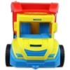 Dömper sárga-kék piros billenővel műanyag 38 cm
