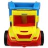 Dömper sárga-piros kék billenővel műanyag 38 cm