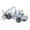 Erdészeti jármű építőjáték 500 db-os szerszámokkal fém Eitech