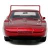 Fast & Furious fém autó Dodge Charger Daytona Dom 1:24