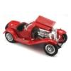 Fém autó Alfa Romeo 8C 2300 Spider Touring 1932 piros 1:18 Bburago