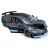 Fém autó Bugatti Divo matt szürke 1:18 Bburago