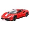 Fém autó Ferrari 488 Pista piros 1:24 Bburago