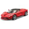 Fém autó Ferrari LaFerrari piros 1:24