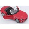 Fém autó Fiat 124 Spider piros 1:24 Bburago