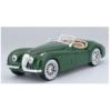 Fém autó Jaguar XK 120 Roadster 1951 sötétzöld 1:24 Bburago