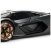 Fém autó Lamborghini Terzo Milennio matt fekete 1:24 Bburago