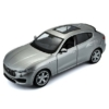 Fém autó Maserati Levante ezüst 1:24 Bburago