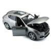 Fém autó Maserati Levante ezüst 1:24