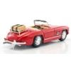 Fém autó Mercedes-Benz 300 SL Touring 1957 piros 1:18 Bburago