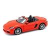 Fém autó Porsche 718 Boxter narancs 1:24