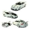 Fém autó Porsche 911 GT3 RS 4.0 fehér 1:18 Bburago