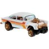 Fém kisautó Chrome 1955 Chevy Bel Air Gasser Hot Wheels