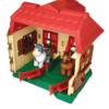 Happy Tanya és ház állatokkal és markolóval