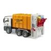 Játékautó MAN szemétszállító teherautó műanyag 1:16