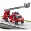 Játékautó Mercedes-Benz Sprinter tűzoltóautó emelőkosárral műanyag Bruder 1:16