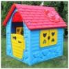 Játszóház műanyag Az első házam 106 x 98 x 90 cm kék
