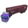 Kamion lila fém konténerrel 1:64
