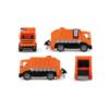 Kukásautó Giga Trucks konténerrel és kukával 70 cm