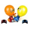 Lufifejű boxolók távirányítós RC játék 2 robottal és 24 lufival