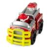 Mancs őrjárat fém autó Jungle Rescue Marshall tűzoltó autó piros