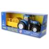 New Holland T7070 műanyag traktor kiegészítőkkel és hangeffekttel 1:24