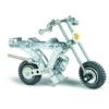 Oldalkocsis motor építőjáték 170 db-os szerszámokkal fém Eitech