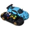 Majorette Porsche 911 GT3 RS autó és hordozó + 1 autó