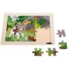 Puzzle Herceg és sárkány fa 24 db-os Woody