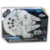 Star Wars Millennium Falcon műanyag űrhajó Han Solo figurával