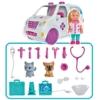 Evi Love baba Doktor Evi állatorvosi szett mentőautóval és kiegészítőkkel