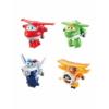 Super Wings Átalakuló játékrepülő 4 db-os készlet, Jett, Grand Albert, Mira, Paul (kicsi)