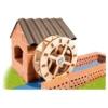 Tégla építőjáték Vízimalom szett kiegészítőkkel teifoc