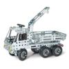 Teherautó több funkciós építőjáték 340 db-os szerszámokkal fém Eitech