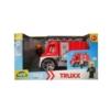 Truxx Tűzoltóautó műanyag figurával