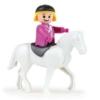 Truxx lószállító műanyag figurával és lóval
