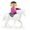 Truxx lószállító műanyag figurával és lóval 26 cm