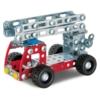 Tűzoltóautó építőjáték 180 db-os szerszámokkal fém Eitech