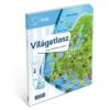 Világatlasz interaktív foglalkoztató hangoskönyv kiegészítő