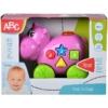 ABC tologatós víziló fény és hangeffektekkel műanyag