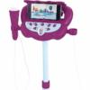 Jégvarázs 2 állítható állvány 60-95 cm, 2 db mikrofonnal, hangefektekkel világítással, hangszóróval