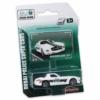 Majorette Dubai Police Mercedes-Benz SLS fém kisautó fehér 1:64