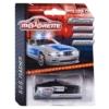 Majorette Ford Mustang rendőrautó hanggal és fénnyel fekete 1:64
