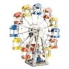 Óriáskerék elektronikus építőjáték 1200 db-os szerszámokkal fém 60 cm Eitech
