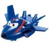 Super Wings Átalakuló játékrepülő 2 db-os készlet, Agent Chace, Todd (kicsi)