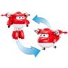 Super Wings Átalakuló repülő és robot Jett műanyag 12 cm