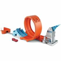 Mattel Hot Wheels Loop Stunt Chambion pálya szett kiasutóval